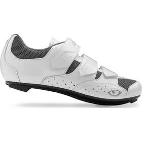 Giro Techne kengät Naiset, white/silver